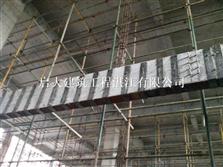 玉林構件偏心受壓采用外粘型鋼加固