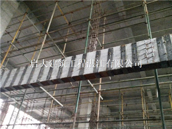 玉林构件偏心受压采用外粘型钢加固