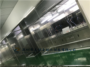 Cosmetic painting (spraying) oil spraying production line