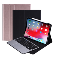 1139-3  Wireless keyboard with Trackpad and PU case for iPad pro 11 inch 2020
