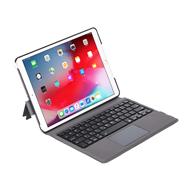 T1092 适用于 iPad 7代 10.2寸蓝牙键盘保护套 超薄一体带触控板