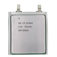 锂锰软包电池CP243842-700mAh