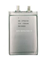 锂锰软包电池CP553145-1700mAh