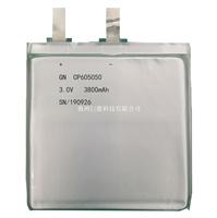 锂锰软包电池CP605050-3800mAh