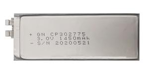 锂锰软包电池CP302775-1450mAh