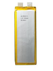 鋰錳軟包電池CP8544115-14000mAh