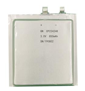 锂锰软包电池CP224248-850mAh