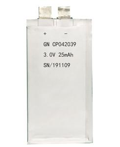 锂锰软包电池CP052039-35mAh