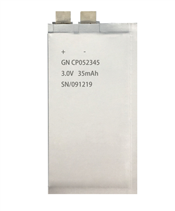 锂锰软包电池CP052345-35mAh
