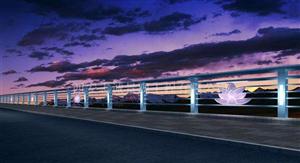 兰州灯光护栏