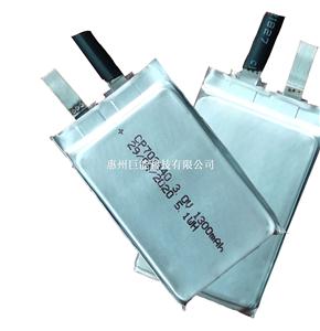 鋰錳軟包電池CP702440-1300mAh