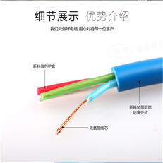 矿用信号电缆MHY32,PUYV39-1矿用监测电缆
