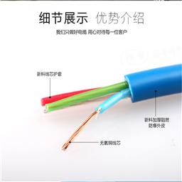 RS485屏蔽/双绞电缆价格 厂家 图片