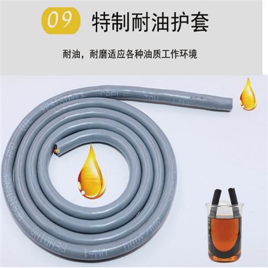 RVSP 阻燃屏蔽电缆规格 结构