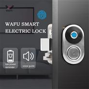WAFU Smart Electronic Fingerprint Door Lock Waterproof Outdoor Stainless Steel Fingerprint Door Lock