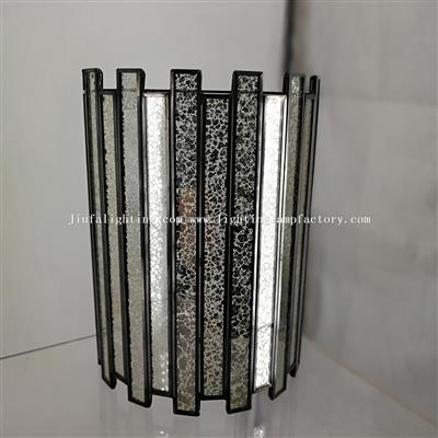 WL120100 Mercury Glass Wall Sconce Wall Lamp Light