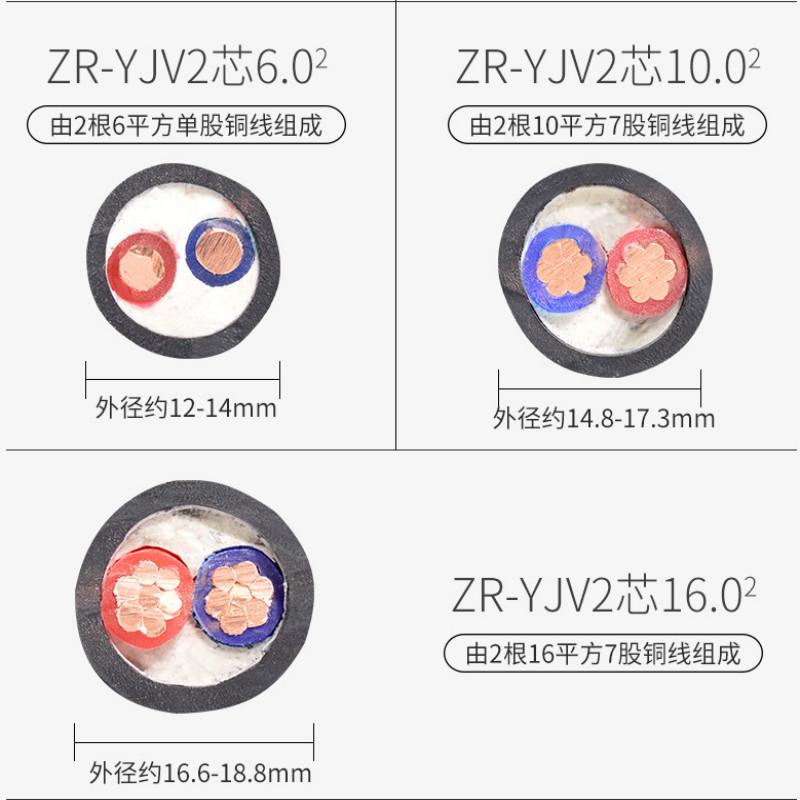 阻燃仪表信号电缆ZR-KJYYVRP