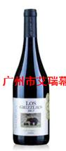 智利灰熊酒庄西拉精选红葡萄酒