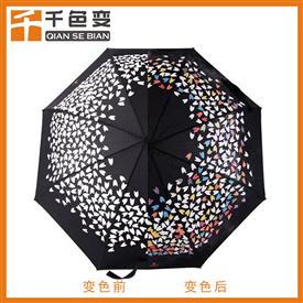 遇水變透明油墨遇水變色雨傘布專用感濕油墨