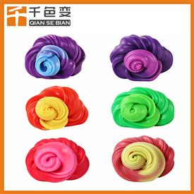廠家直銷溫變粉變色橡皮泥熱敏有色變有色粉玩具感溫變色粉