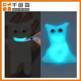自發光夜光粉超亮印刷用藍綠光發光粉