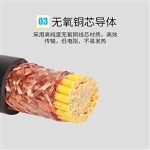 阻燃本安仪表信号软电缆ZR-IA-DJYPVP