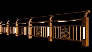 榆林燈光護欄