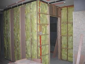 珠海中山隔音材料吸音棉阻燃玻璃棉隔音棉ktv保温隔热天花墙体