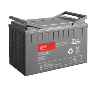 美国山特UPS电源蓄电池