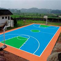 硅PU篮球场 硅PU球场材料 水性硅PU