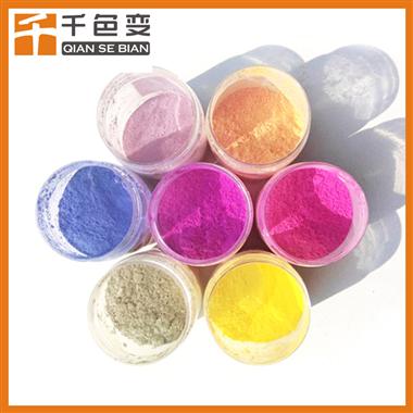 厂价直销 太阳光紫外UV光变粉 玩具工艺光变材料