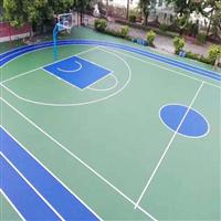 丙烯酸球场 网球场地面 篮球场地坪漆 羽毛球场地板 排球场地胶