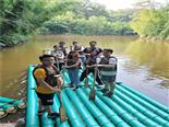 水上竹筏-万荔农家乐休闲一日游项目