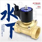 水下噴泉電磁閥SLDF內螺紋銅閥220V常閉24V電閥門4分6分1寸防水型