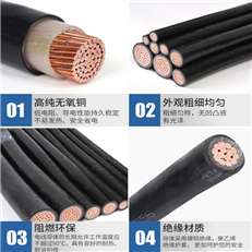 国标 高压电力电缆YJV YCWP电缆