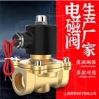 【上海新驕】2W常閉型電磁閥220V銅閥