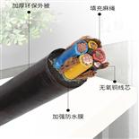 ZA-RVV通信电源用阻燃软电缆4X10