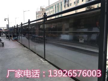 深圳围挡厂家、钢结构围挡价格