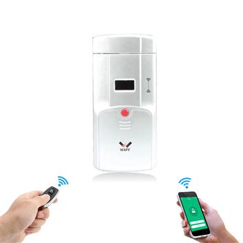 WF-011W WAFU Dual System Smart Invisible Door Lock WIFI Remote Home Door Lock Tuya App Door Lock