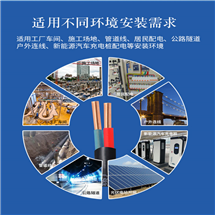 RVVP屏蔽软电缆、RVVP2屏蔽软电缆价格