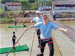 飞夺泸定桥(横渡铁索)-万荔生态园休闲项目