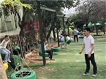 草地秋千-万荔生态园休闲项目