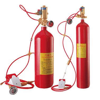 火探管感温自启动灭火装置