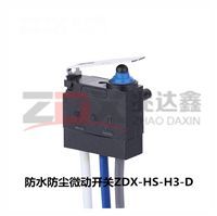 ZDX-HS-H3-D防尘微动开关