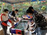 乐水山庄桌式足球