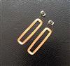 JTRFID 34*9MM Ultralight芯片焊接線圈13.56MHZ線圈RFID裸標簽