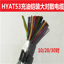 30*2*0.6-双层钢带铠装通信电缆hya53