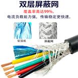 圆型软护套屏障线RVVP2*1.5旌旗灯号电缆