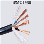 RVSP4*0.2MM芯高柔性耐曲折双绞屏障电缆
