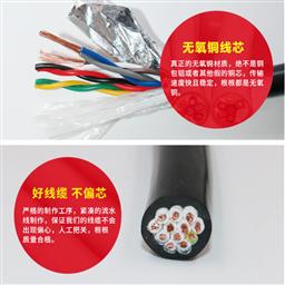 计算机信号电缆ZR-DJYPV-10*2*4规格